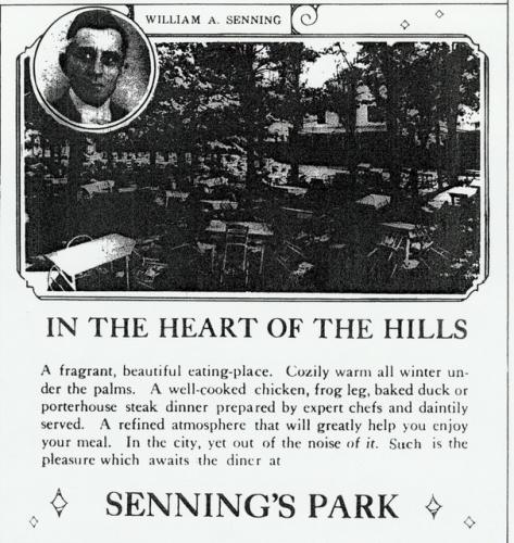 Sennings Park Ad